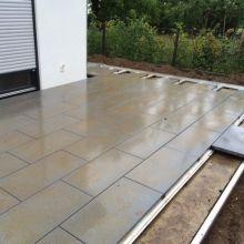 Terrassenplatten Verlegen terrassenplatten verlegen mit dem metten profilsystem bazén a