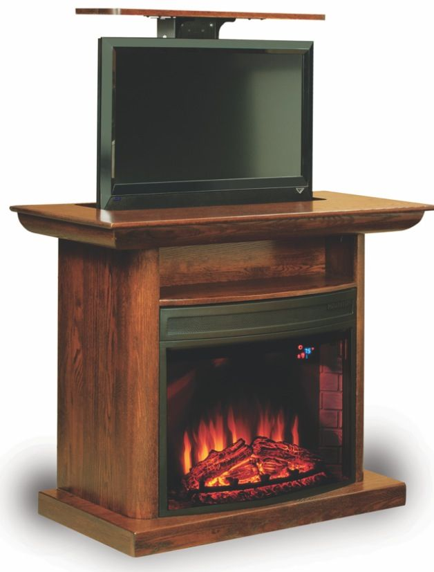 18+ Amish corner electric fireplace tv stand ideas