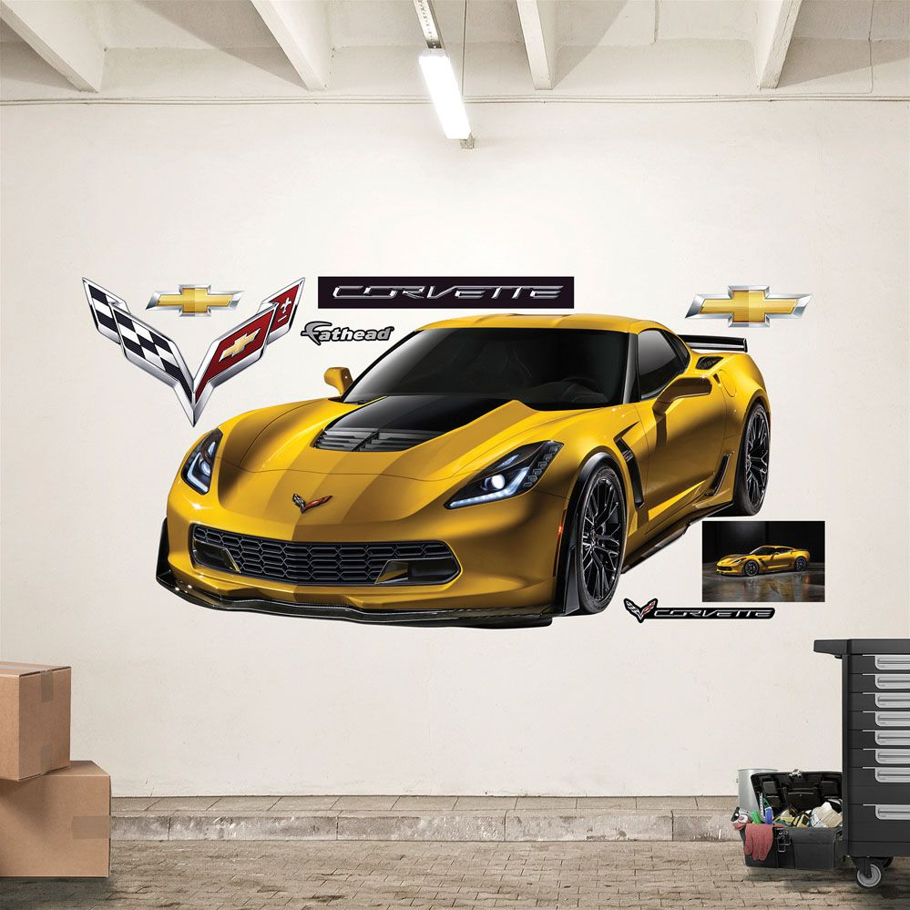 2015 Corvette Z06 Realbig Wall Decal 2015 Corvette 2015