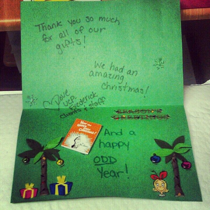 Card from the united cerebral palsy of central maryland in