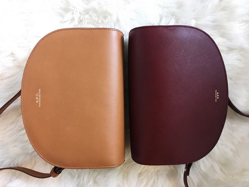 to shop purse diaries apc half moon bag review apc. Black Bedroom Furniture Sets. Home Design Ideas