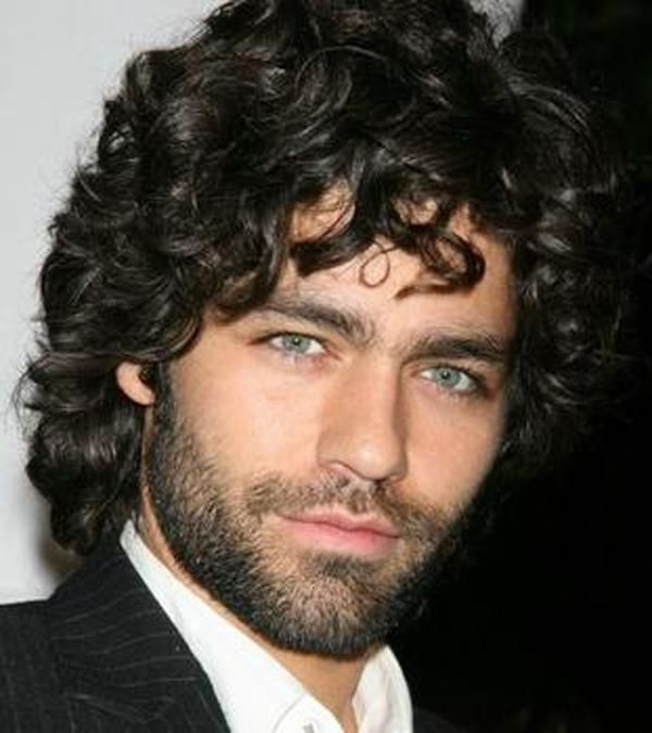 mens curly hairstyles medium