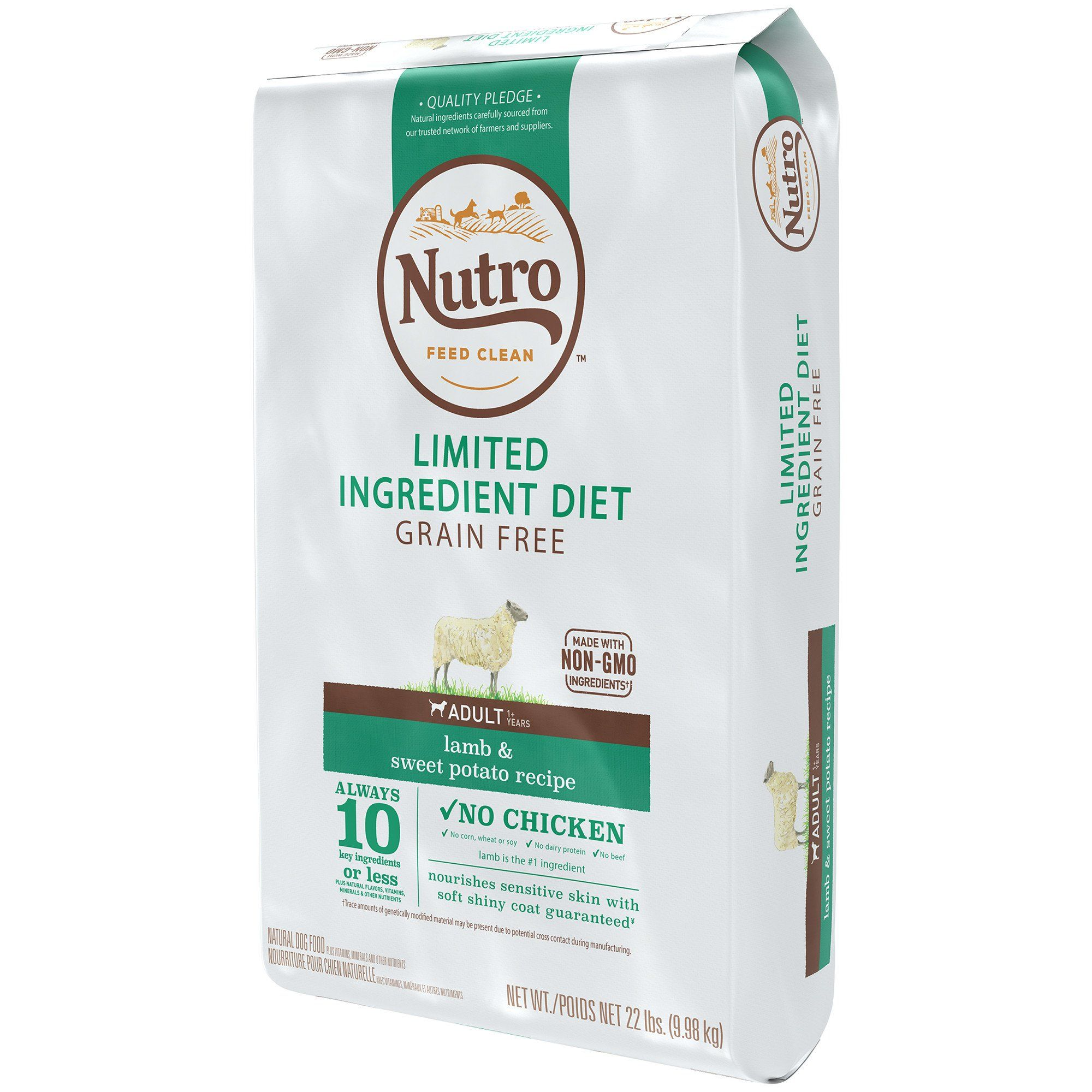 Nutro Limited Ingredient Diet Lamb Sweet Potato Recipe Dry Adult