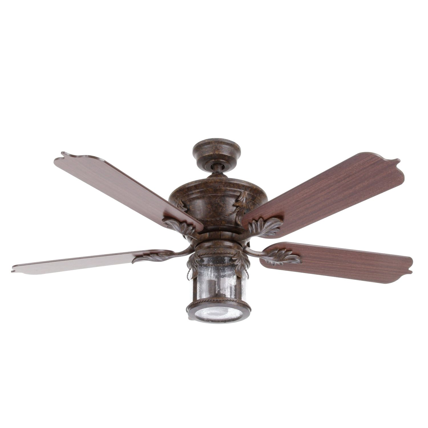 Hampton Bay Milton 52 In. Indoor/Outdoor Oxide Bronze