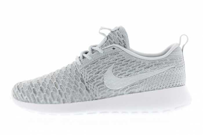 low priced 9a9e5 29eb1 Fashion Style Nike Roshe Run Flyknit Womens Grey White Black Friday
