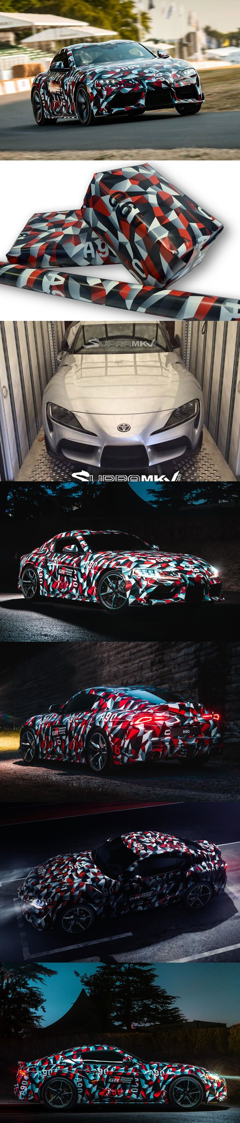 Toyota Unveils The Ultimate Wrapping Paper. Now you can make all your gifts  look like a Toyota Supra. 4f6b997176