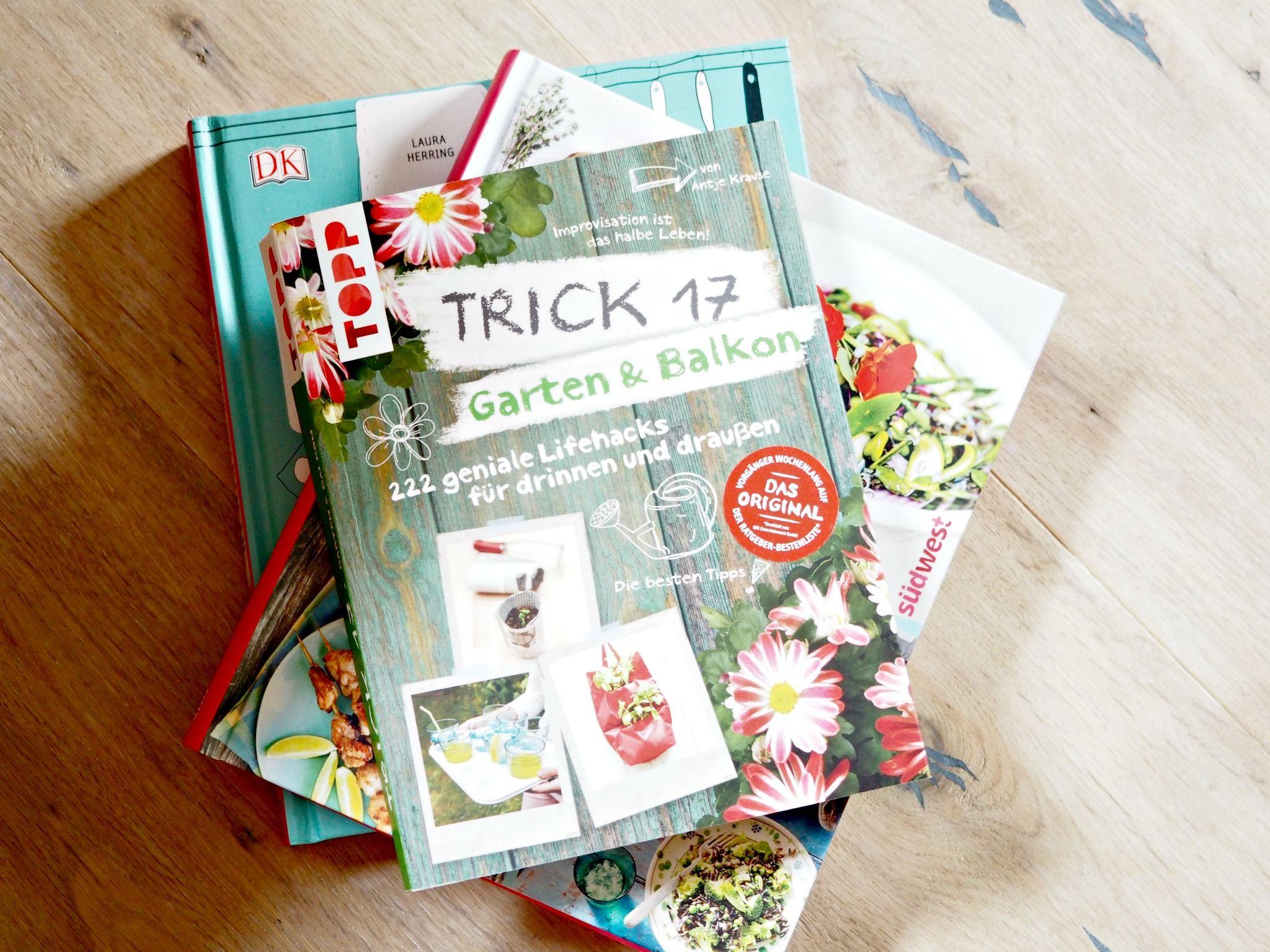 Pinterest in Buchform - jede Menge Hacks und Ideen für den Garten und Balkon