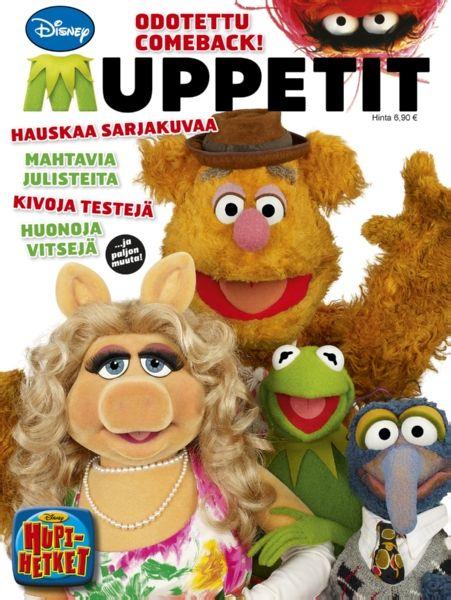 Muppetit-albumi marssittaa estradille Muppet Shown rakastetut sankarit, jotka saavat paatuneimmankin tosikon nauruhermot kutiamaan. Mukana on hervotonta sarjakuvaa, tiukkoja testejä, syväluotaavia haastatteluja ja oppitunti irvailun jaloon taitoon. 36 sivua.