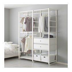 Systemes De Rangement Vetements Ikea Inloopkast In Slaapkamer