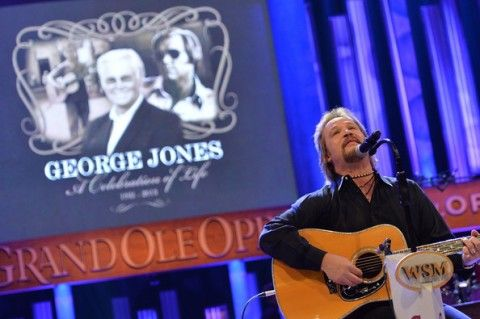 George Jones Funeral Live | Country Music World Bids Farewell to George Jones