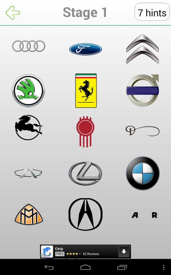 French Foreign Car Logos And Names
