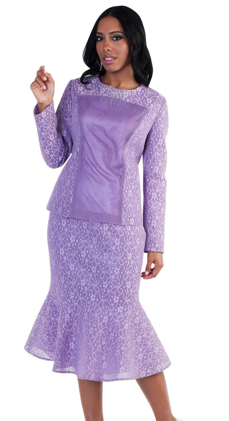 Tally Taylor Church Suit 4577-Lavender | Pinterest