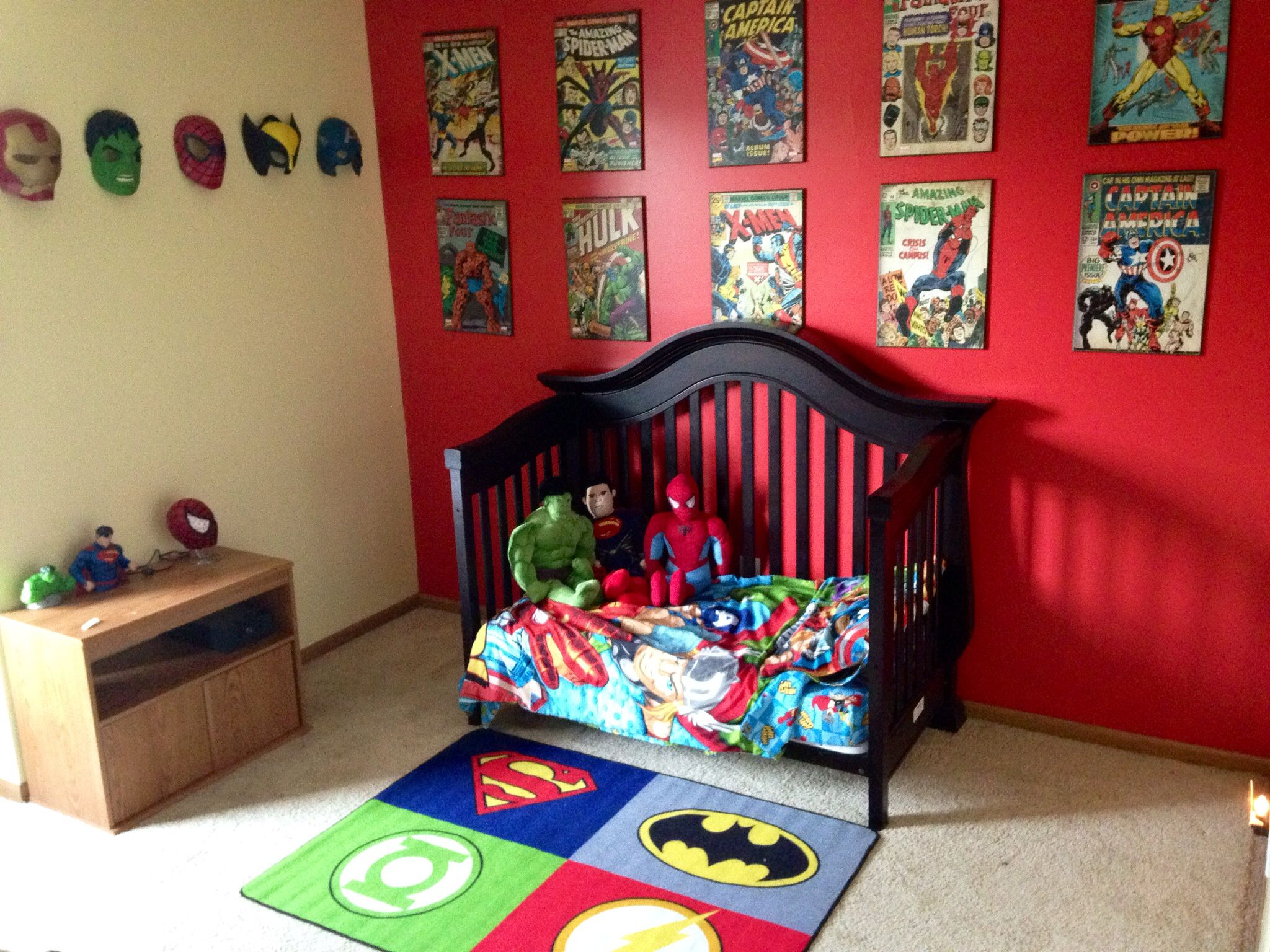 Super Hero Room Comic Book Room Pinterest Room Room