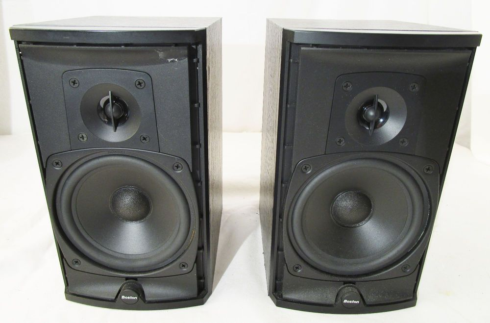 Boston Acoustics CR6 Main / Stereo Speakers Estate find Sound Great