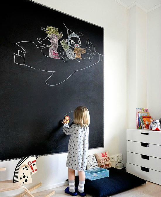 Interactive Walls For Kid Spaces Kids Room Inspiration Kid Room