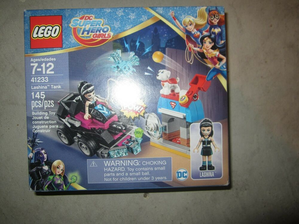 DC SUPER HERO GIRLS~ LEGO 41233 LASHINA TANK ~145 PCS NIB