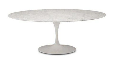 Eero Saarinen Tulip Table Oval Dining 47 X 92 Inch In 2020 With