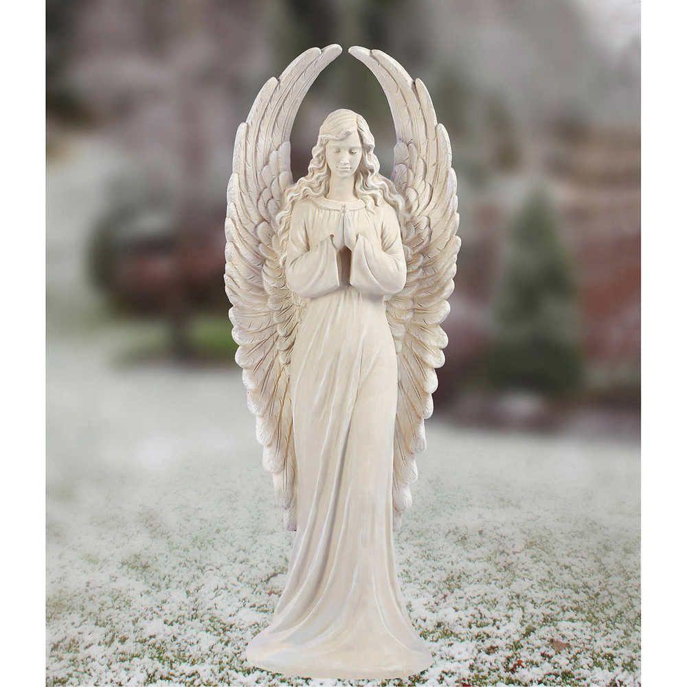 Outdoor Indoor Christmas Angel Statue 45 Porch Yard Entryway