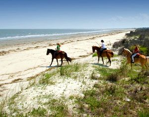 Horseback Riding On The Beach In Georgia Best Beaches World