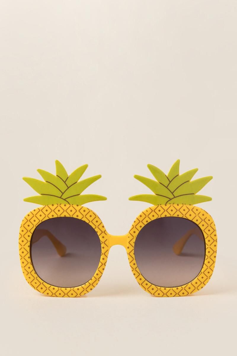 Pineapple Flamingo Glasses Funny Hawaiian Sunglasses Eyewear for Carnival