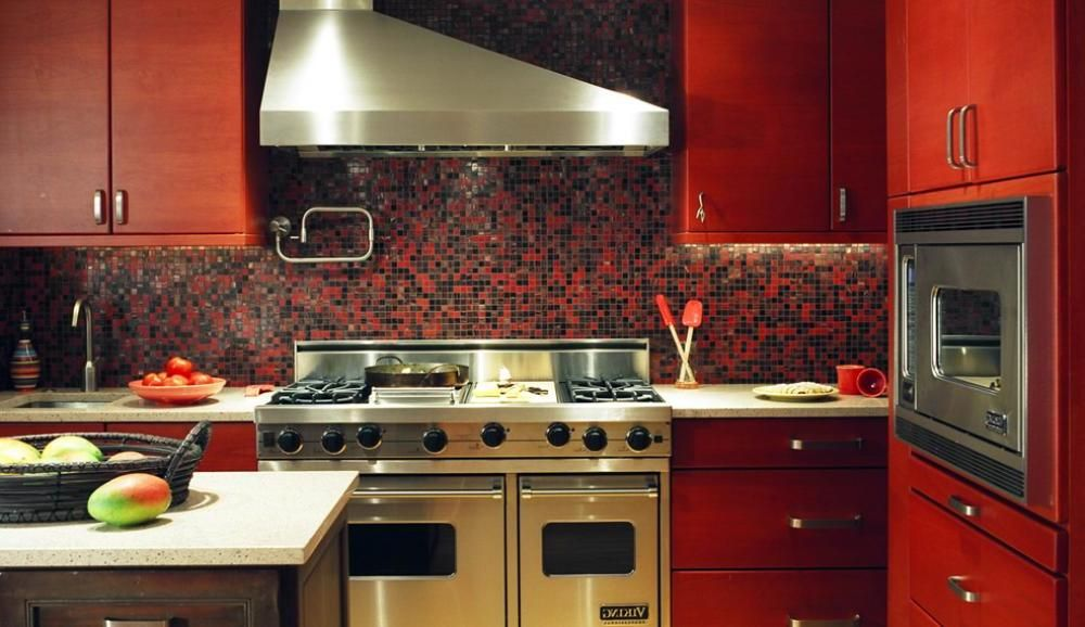 Red Kitchen Tile Design Ideas ~ Pin by selena sanders on telluride design interior