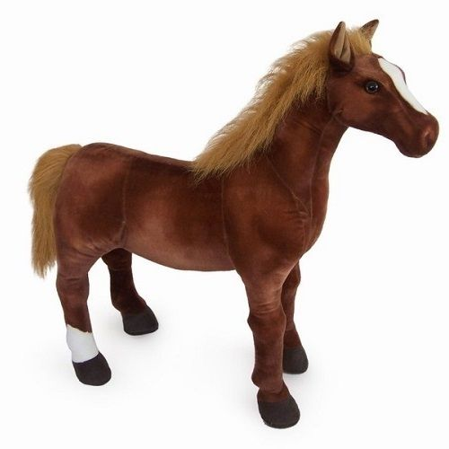Stuffed Horse Toy : ″ thoroughbred sit on toy horse abbie pinterest