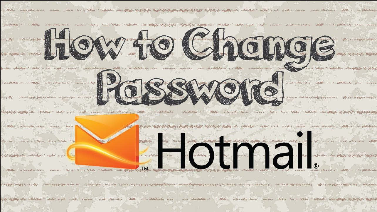 How to change hotmail password in 2 minutes video