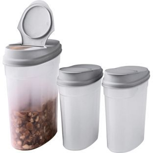 Buy Plastic Cereal Containers Pack Of 3 At Argos Co Uk Your