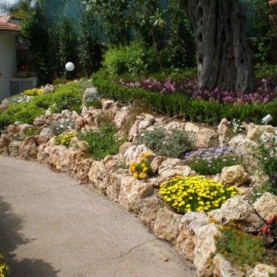 Enrochement paysager adonis paysages jardin pinterest for Enrochement paysager