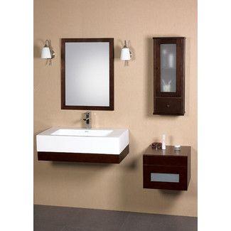 "FOR HANDICAPPED ACCESSIBLE CABIN:  Found it at AllModern - Ronbow Modular Adina 36"" Wall Mount Bathroom Sink Sethttp://www.allmodern.com/Ronbow-Modular-Adina-36-Wall-Mount-Bathroom-Sink-Set-WM1116-RNB1673.html?refid=SBP"