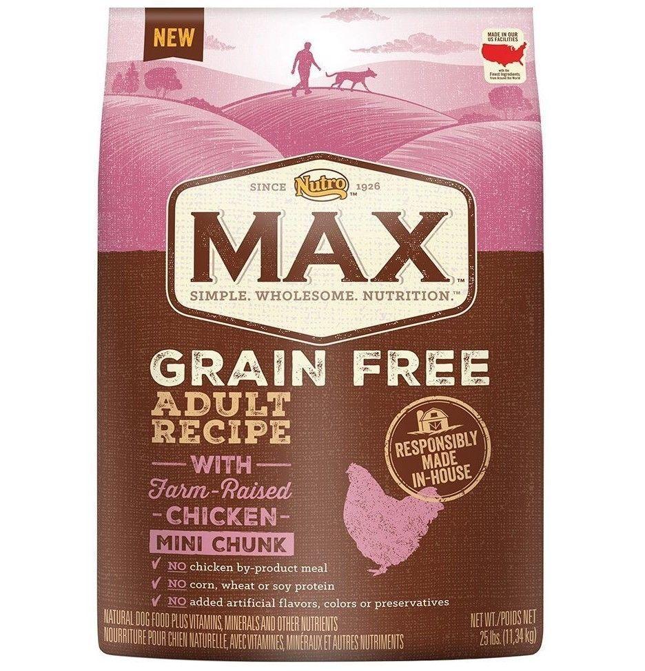 Grain Free Adult Recipe With Farm Raised Chicken Mini Chunk Dry