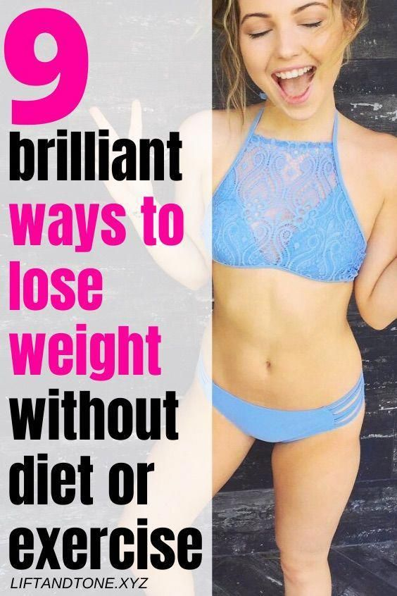 9 brilliant ways to slim down without diet or exercise | tips to lose weight faster | best way to lo...
