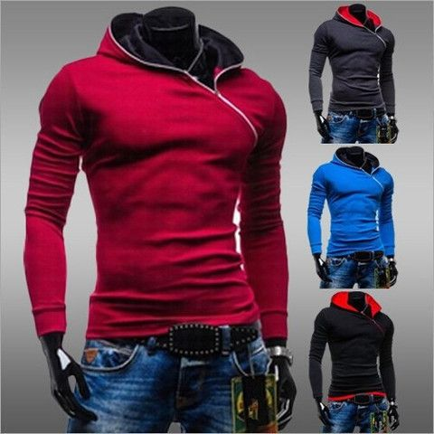Side Zipper Pullover Hoodie – eDealRetail f5bf9baef68e8