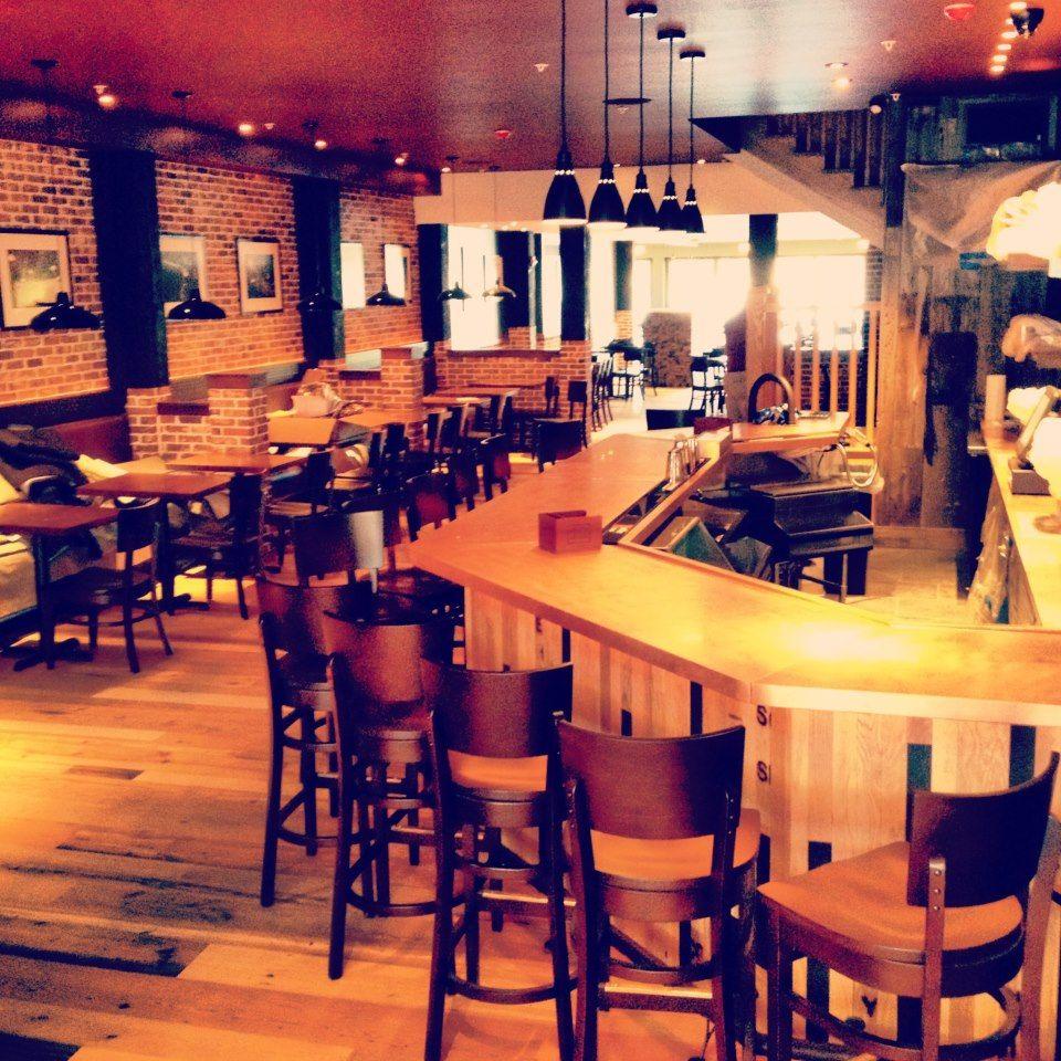 Bar Front At Smoke Signals Restaurant Lake Placid Ny Whiskey