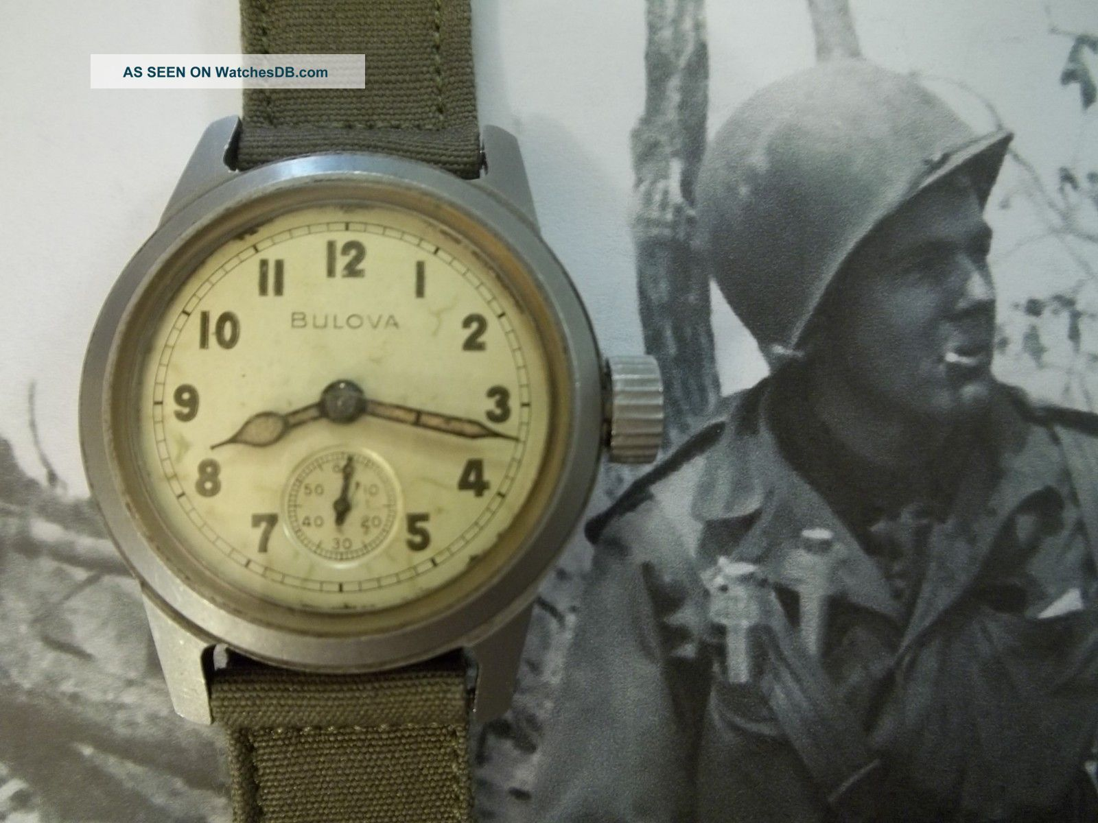 u s photo military ranger war bulova army wrist pin korean watch groundtroops watches