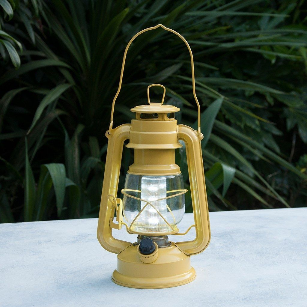 Yellow L.d Battery Powered Hurricane Lamp On Dotcomgiftshop   Gorgeous  Gifts And Homeware In Stunning Designs At Amazing Prices.