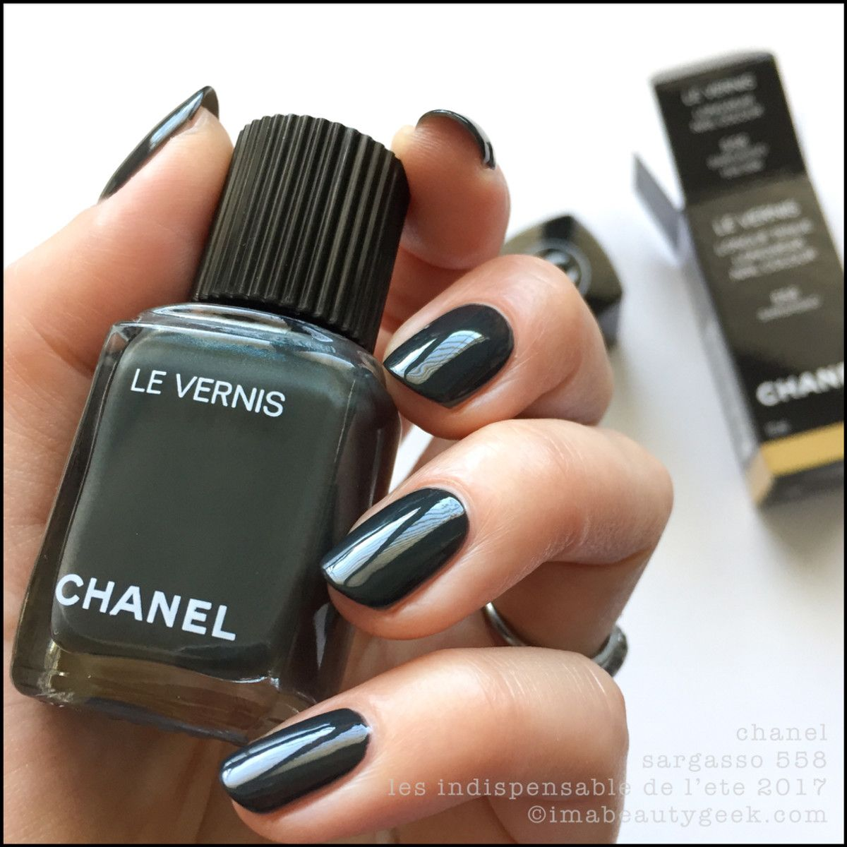 Chanel Sargo 558 Summer 2017 Cruise Collection Le Vernis Nail Polish Latest