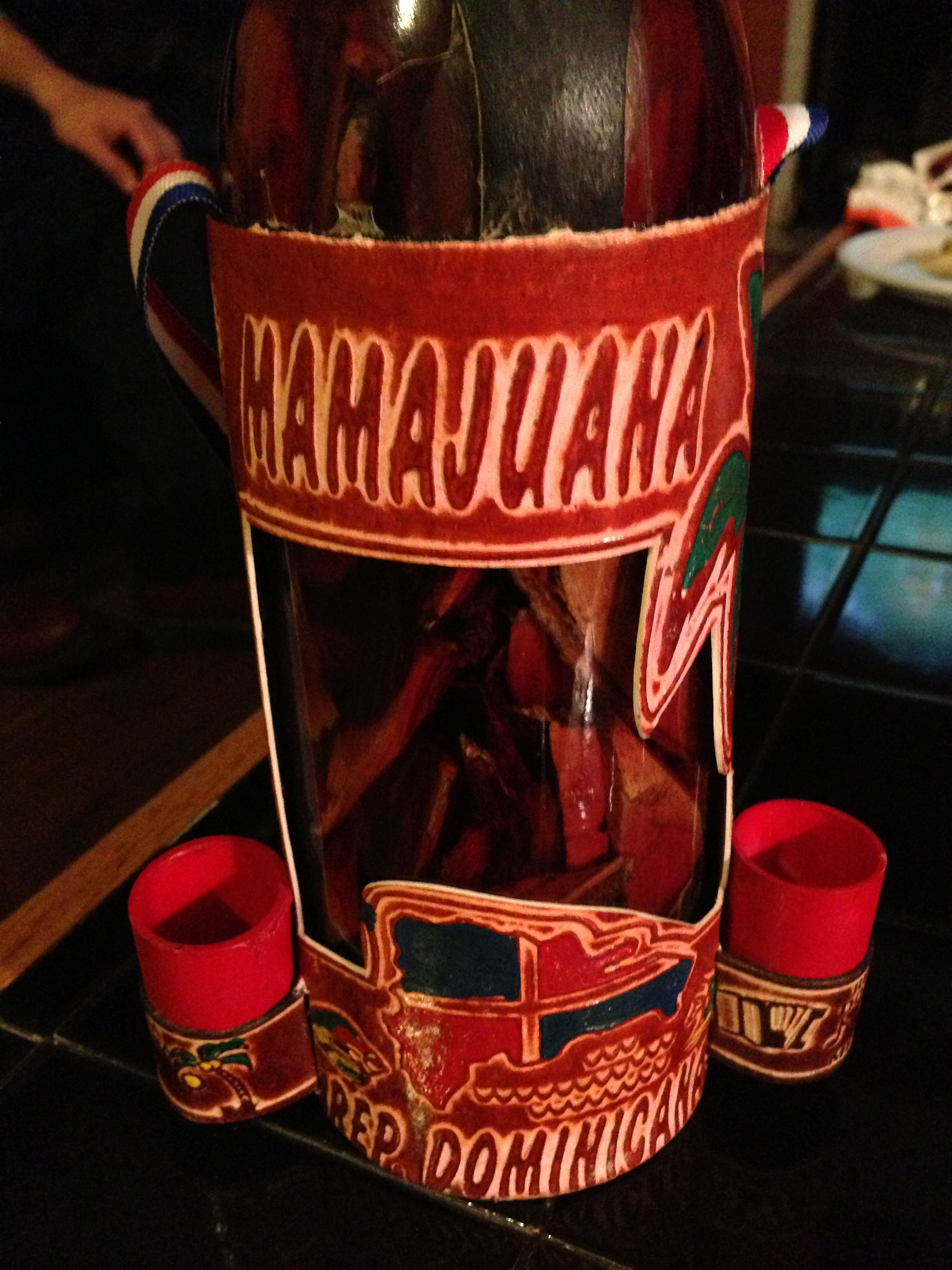 Mama Juana From Dominican Republic An Alcoholic Drink Concocted By Allowing Rum Red Wine And Honey To Soak In A Bott Herb Drink Alcoholic Drinks Diet Drinks