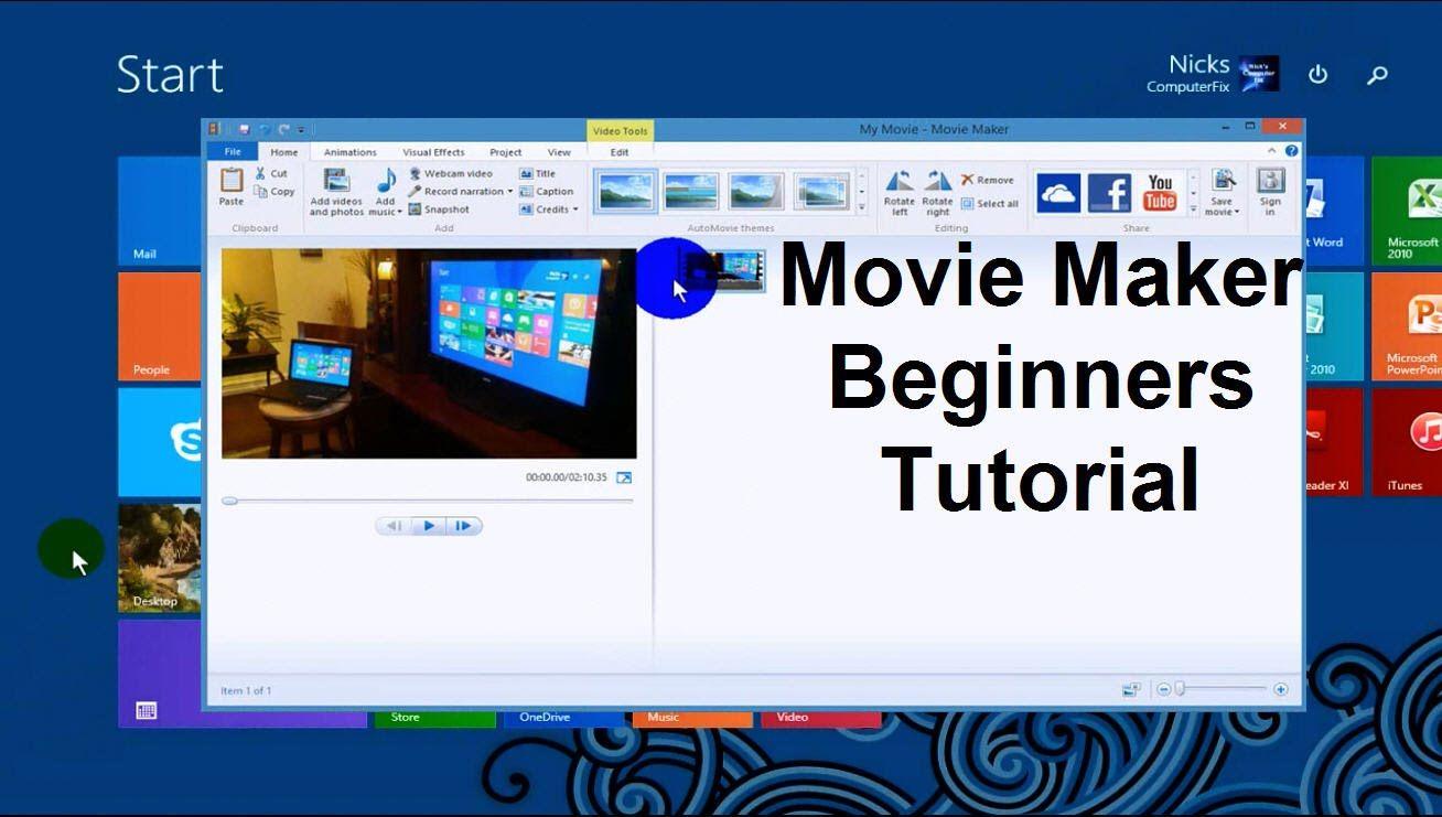 Windows movie maker tutorial tips tricks how tos video baditri Gallery
