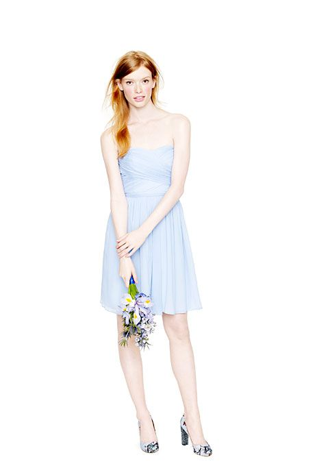 Bridesmaid Dresses in Every Shade of Blue | Bridesmaid dress styles ...