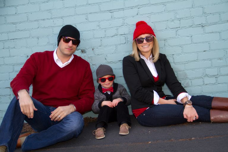 """""""Family Glasses"""" by Portrait Creations photography studio located in Charlotte, NC."""