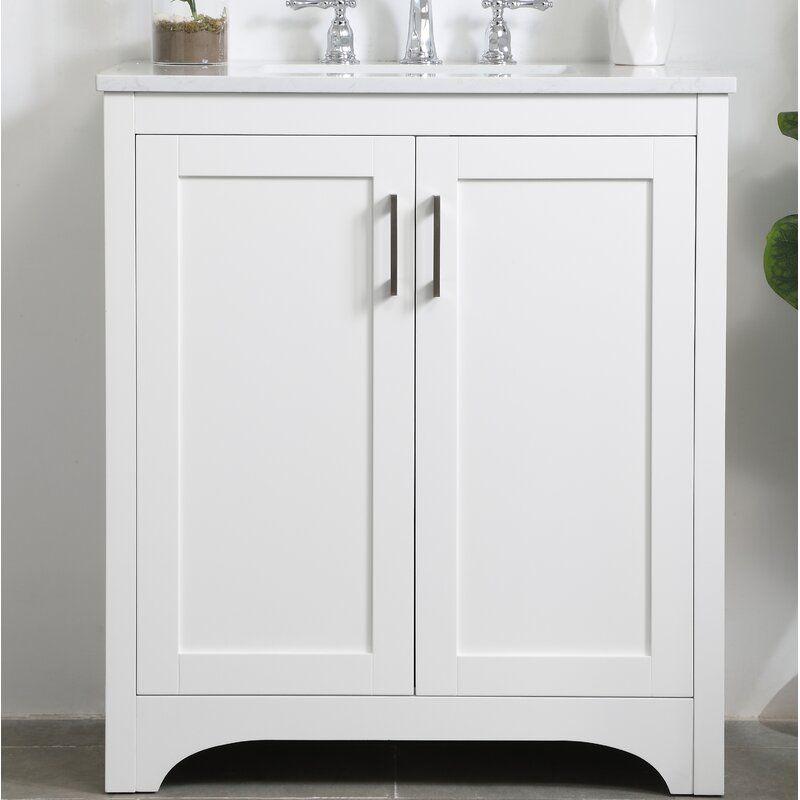 Highland Dunes Gooding 30 Single Bathroom Vanity Set Reviews Wayfair Single Bathroom Vanity Vanity Set Stylish Cabinet