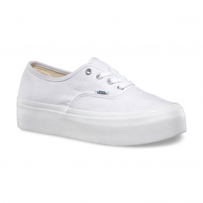 32e5d9c8b043 Vans Authentic Platform Schuhe True White 70€