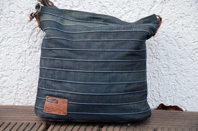 chobe upcycling tasche schnittmuster und n hanleitung jeanstasche chobe n hen sewing. Black Bedroom Furniture Sets. Home Design Ideas