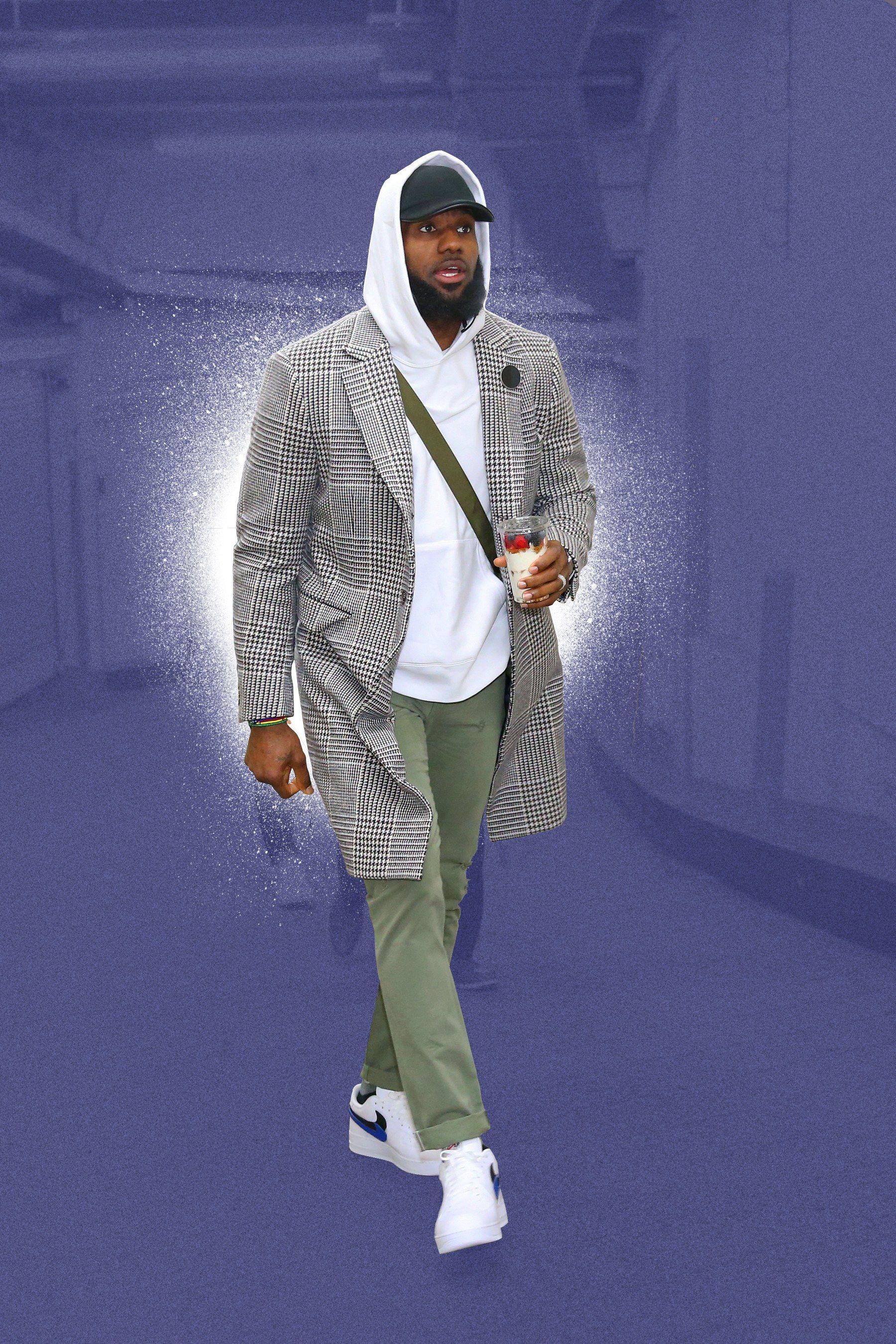 19e12a94c78 LeBron James s Style Is Playoffs-Ready