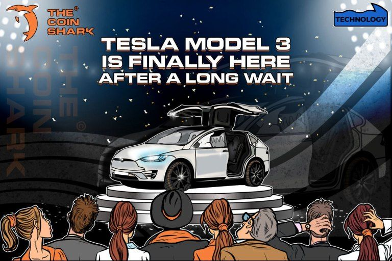 Tesla Model 3 Is Finally Here After a Long Wait | The Coin ...