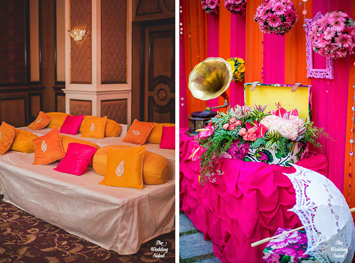 A Colorful Mumbai Wedding Affair via The Society Mumbai