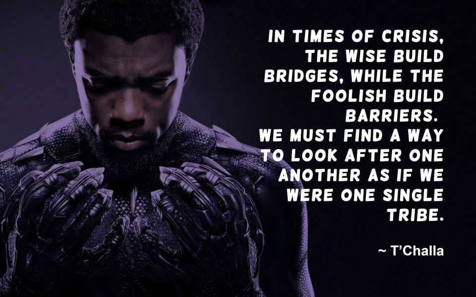 Black Panther Quote Marvel quotes, Great quotes, Marvel