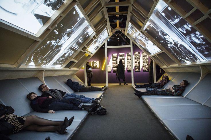 Matali Crasset, exhibition design for The Velvet Underground – New York Extravaganza, Philharmonie de Paris