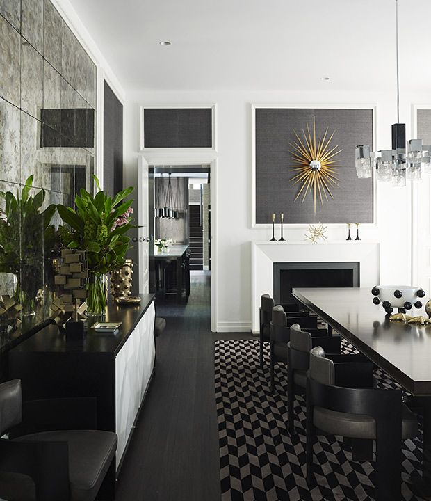 Rooms With Grasscloth Wallpaper: 6 Expert Tips For Decorating With Black And White